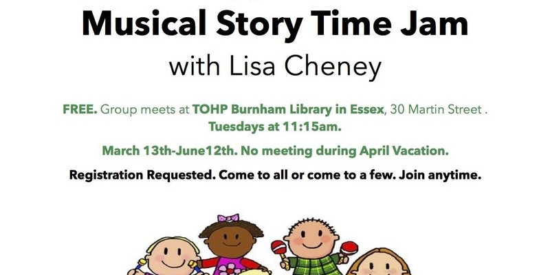 Musical Story Time Jam w/Lisa Cheney - ESSEX!