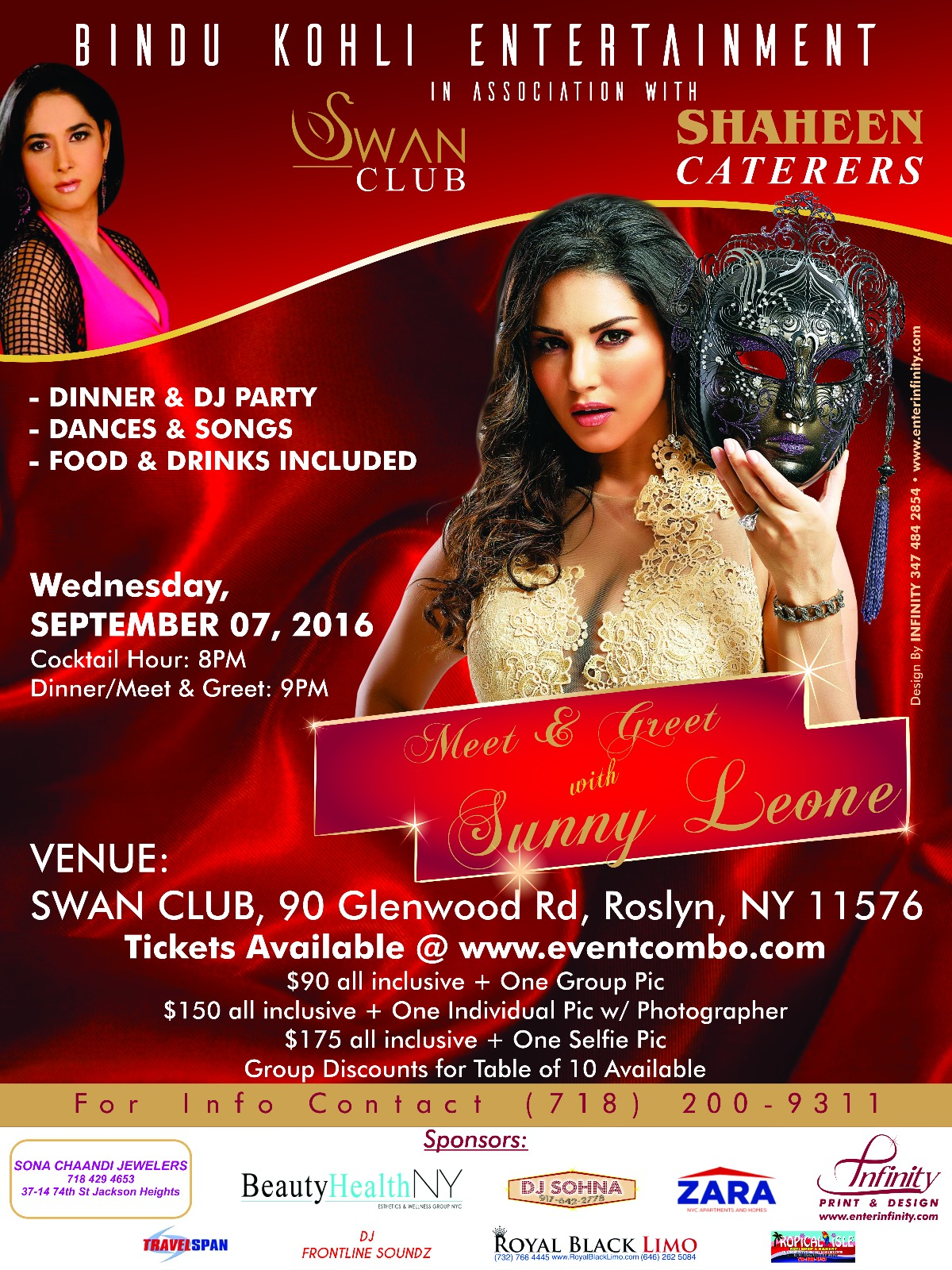 Meet and Greet with Sunny Leone LIVE in New York