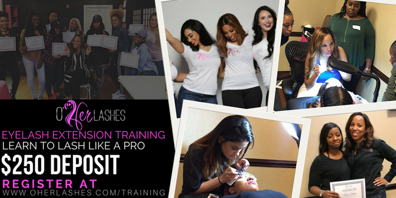 O' Her Lashes Level 1 Eyelash Extension Training Course