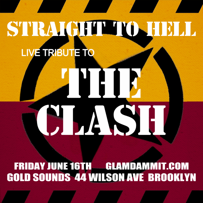 "Glamdammit presents ""Straight To Hell : The Clash Tribute"""