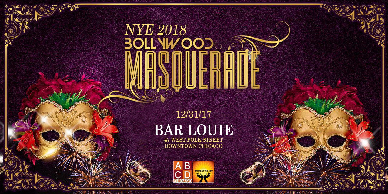NYE 2018: Bollywood Masquerade in Downtown Chicago
