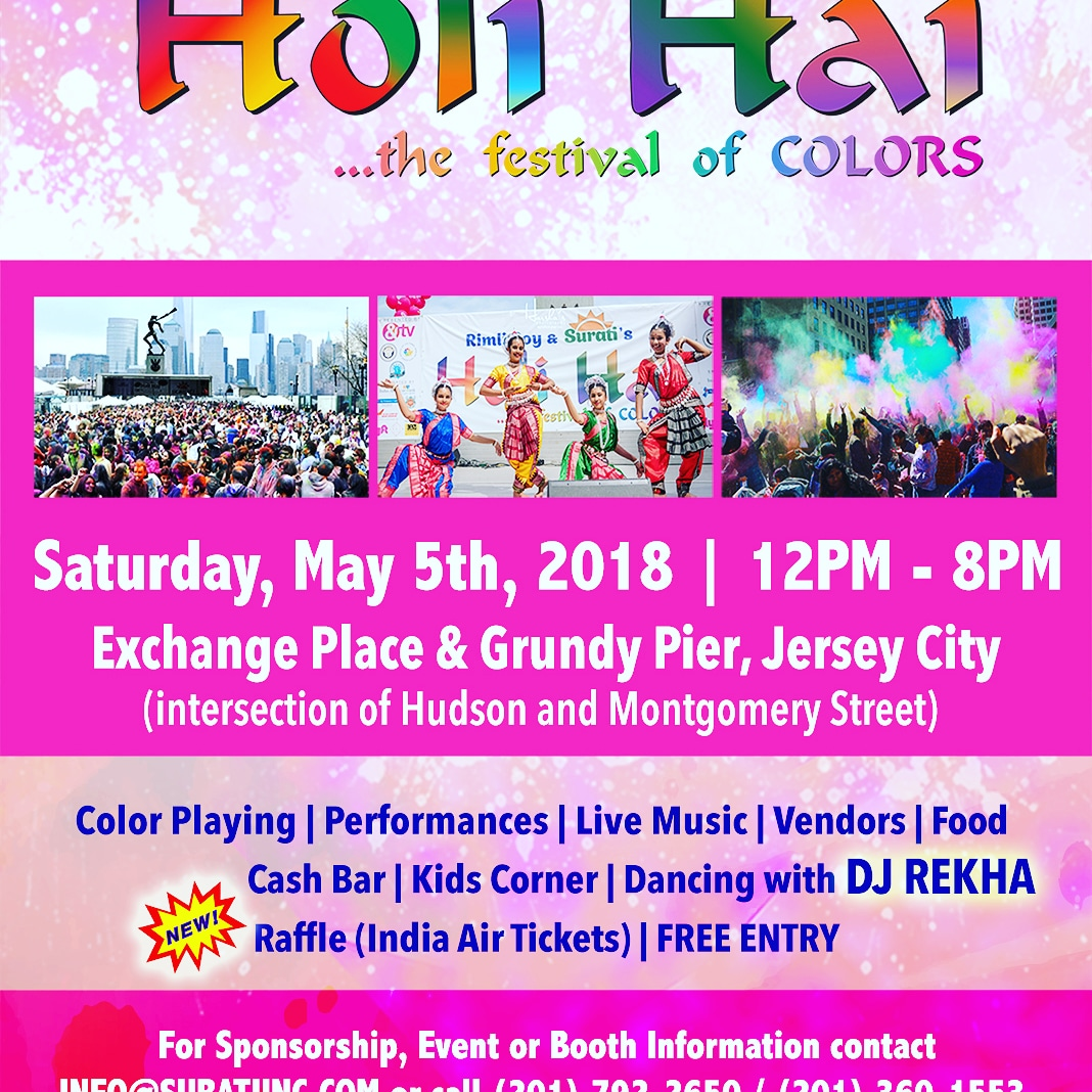 FREE Holi (Spring) Festival of Colors