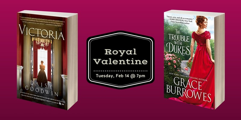 Fort Worth Area Book Club: Royal Valentine