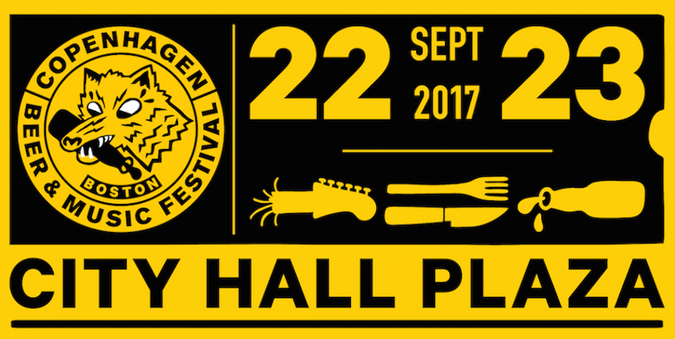 Copenhagen Beer Festival Boston - September 22 & 23, 2017
