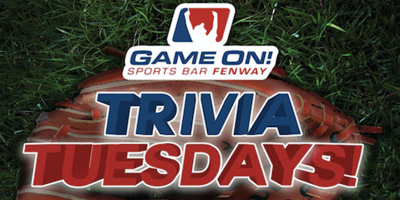 Trivia Tuesdays at Game On Fenway!