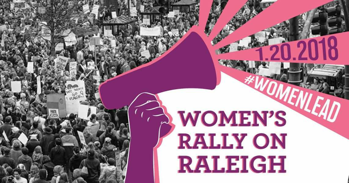 Women's Rally on Raleigh