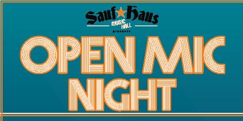 Sauf Haus Open Mic Night