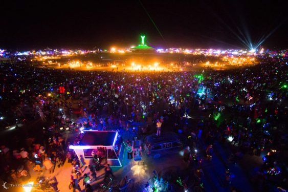 "17th Annual Burning Man ""Decompression"" Street Faire"