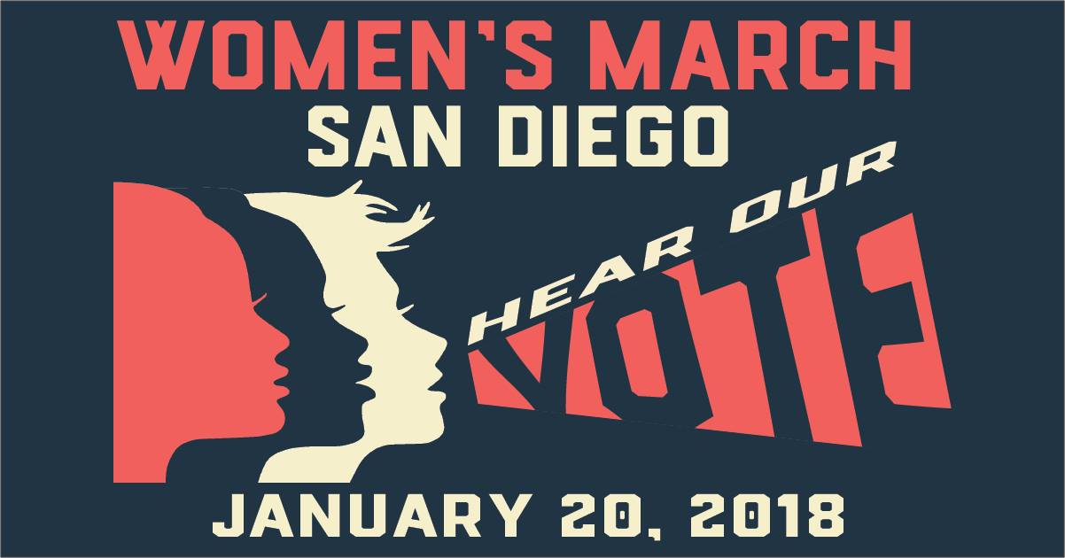 Women's March San Diego | Hear Our Vote 2018