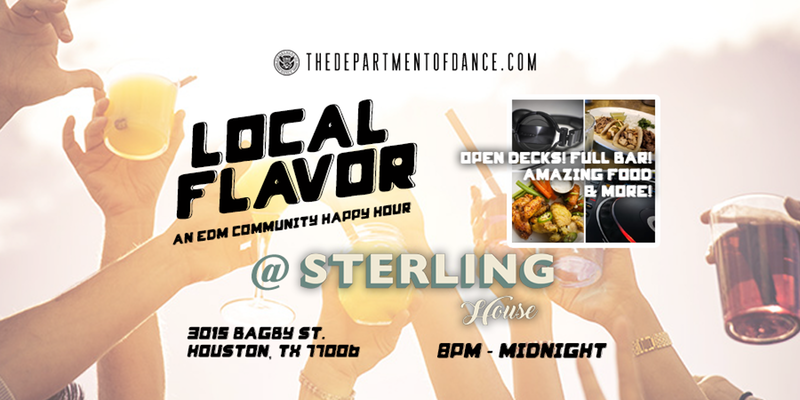 Local Flavor: An EDM Community Happy Hour