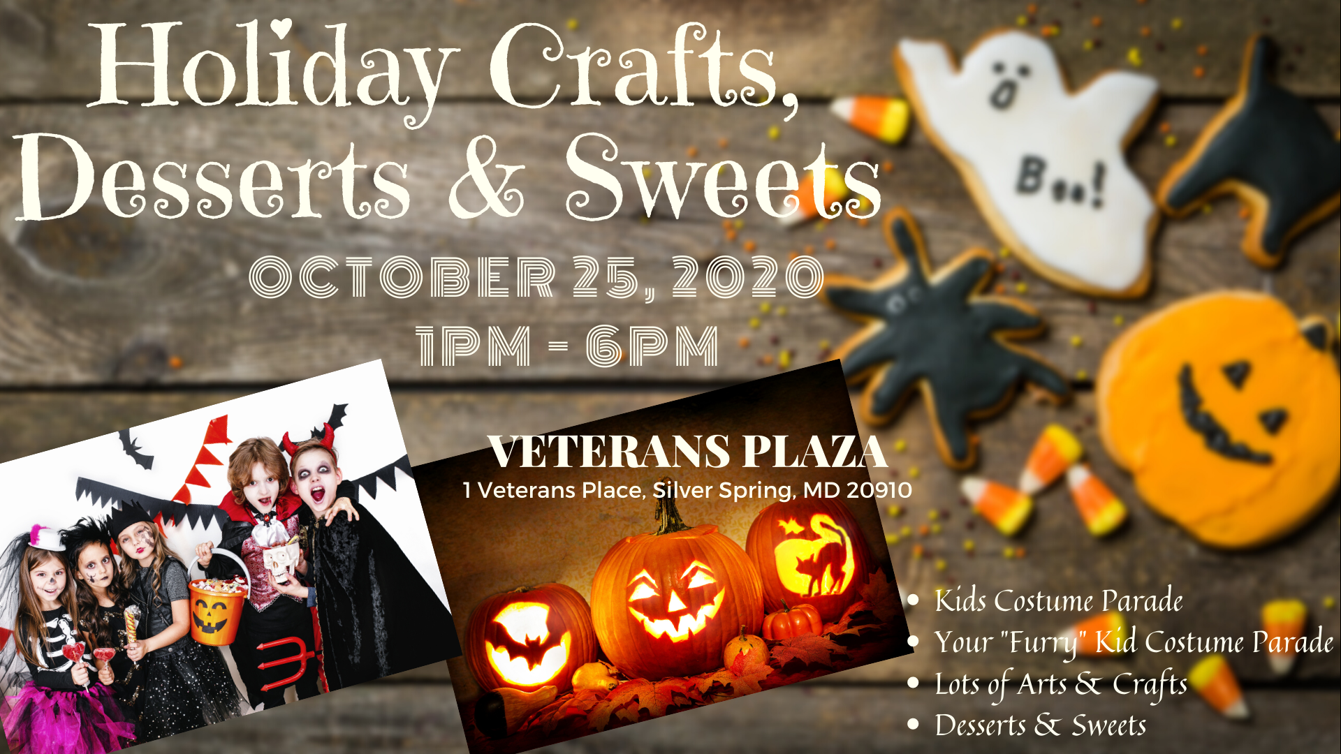 Silver Spring Crafts, Desserts & Sweets Fair