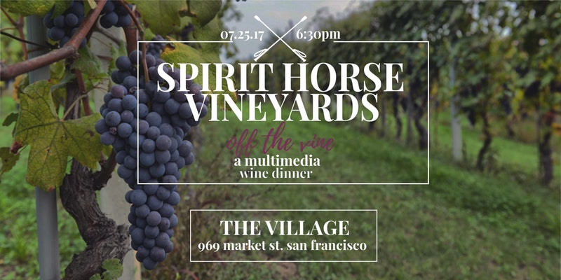 """Off The Vine!"" Multimedia 6-Course Dinner & Wine Pairing San Francisco"