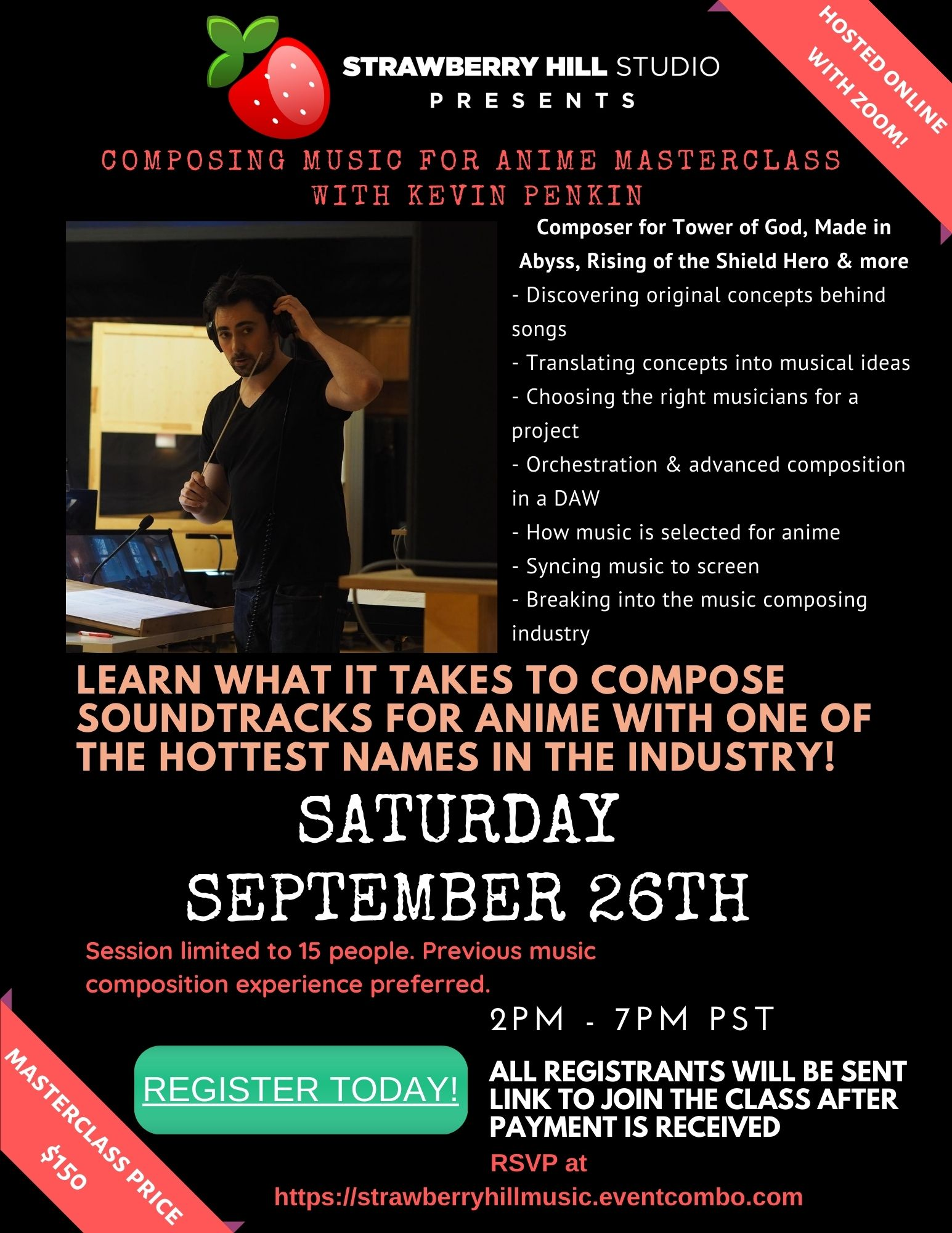 Composing Music for Anime Master Class w/ Kevin Penkin