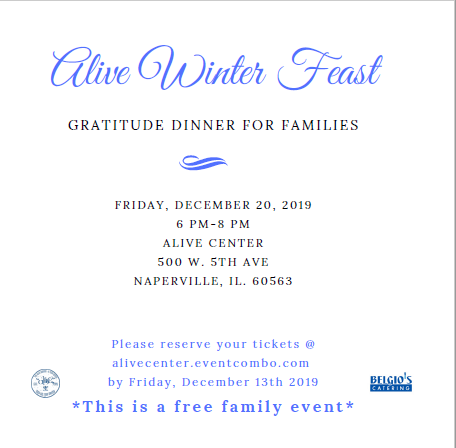 Alive Winter Feast -- Gratitude Dinner for Families