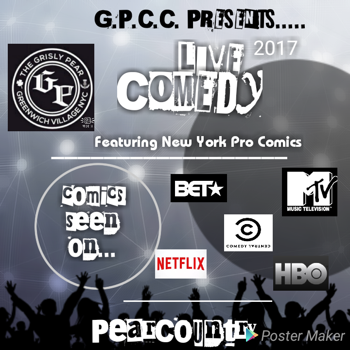 The NYC Pro Comedy Experience!