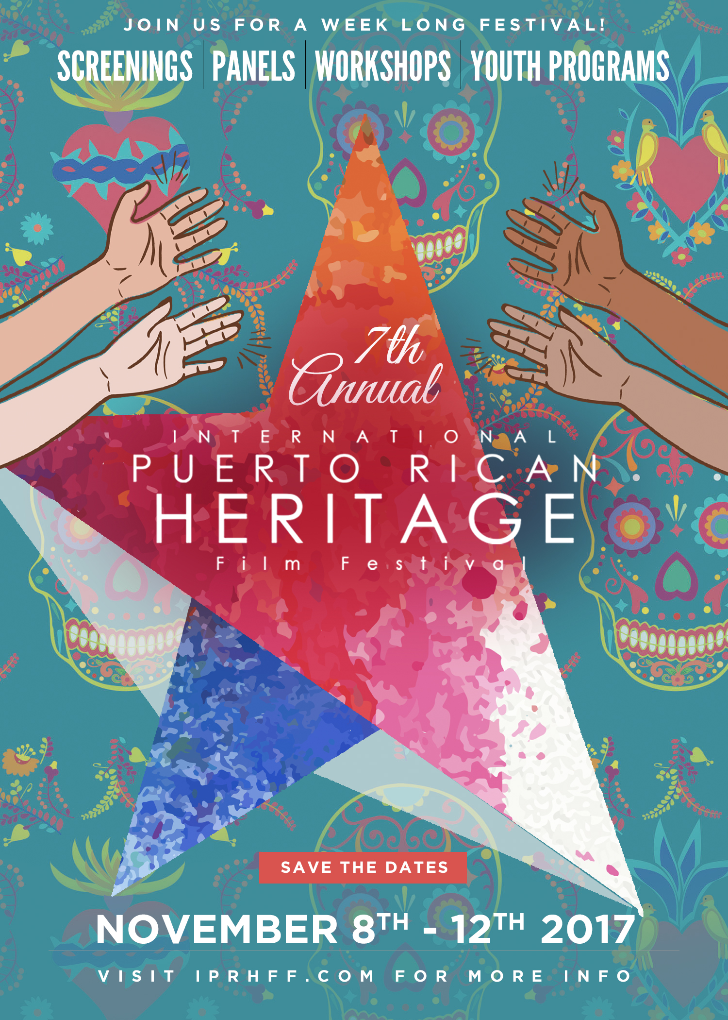 Colonization is extinction - 7th Annual International Puerto Rican Heritage Film Festival