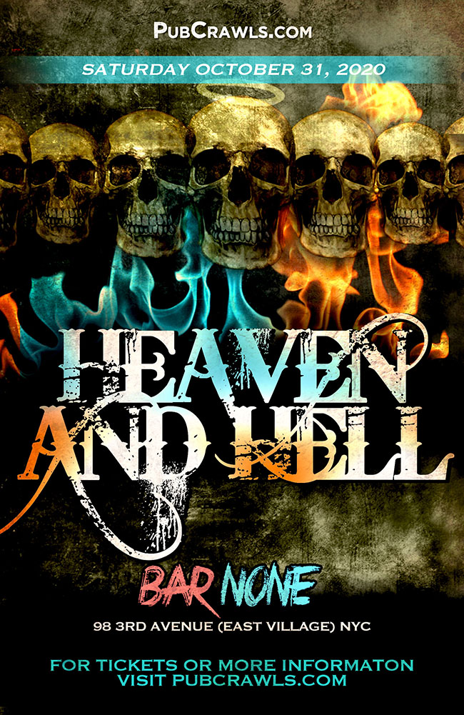 Heaven & Hell HalloWeekend at Bar None NYC