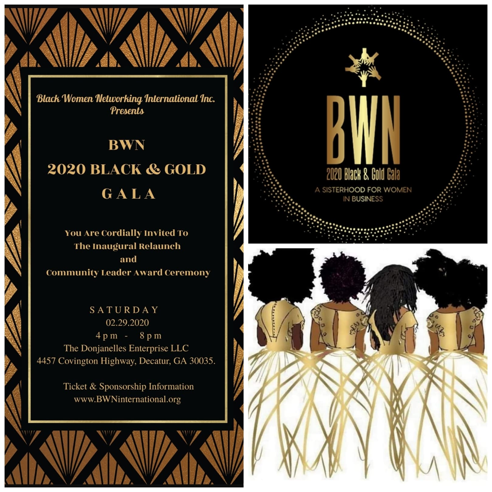 BWN 2020 Black & Gold Gala - Sponsorship Packages