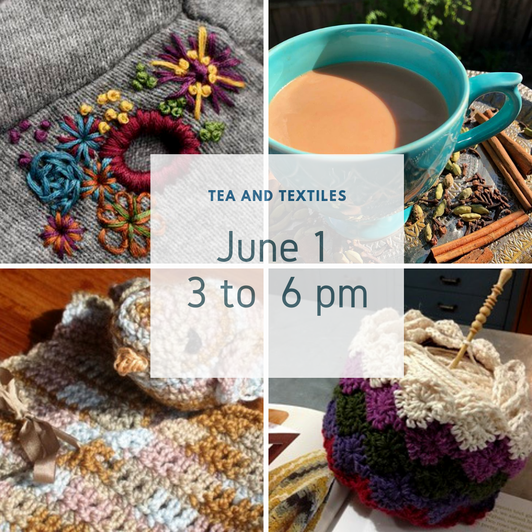 Tea, Textiles, and Board Game Potluck!