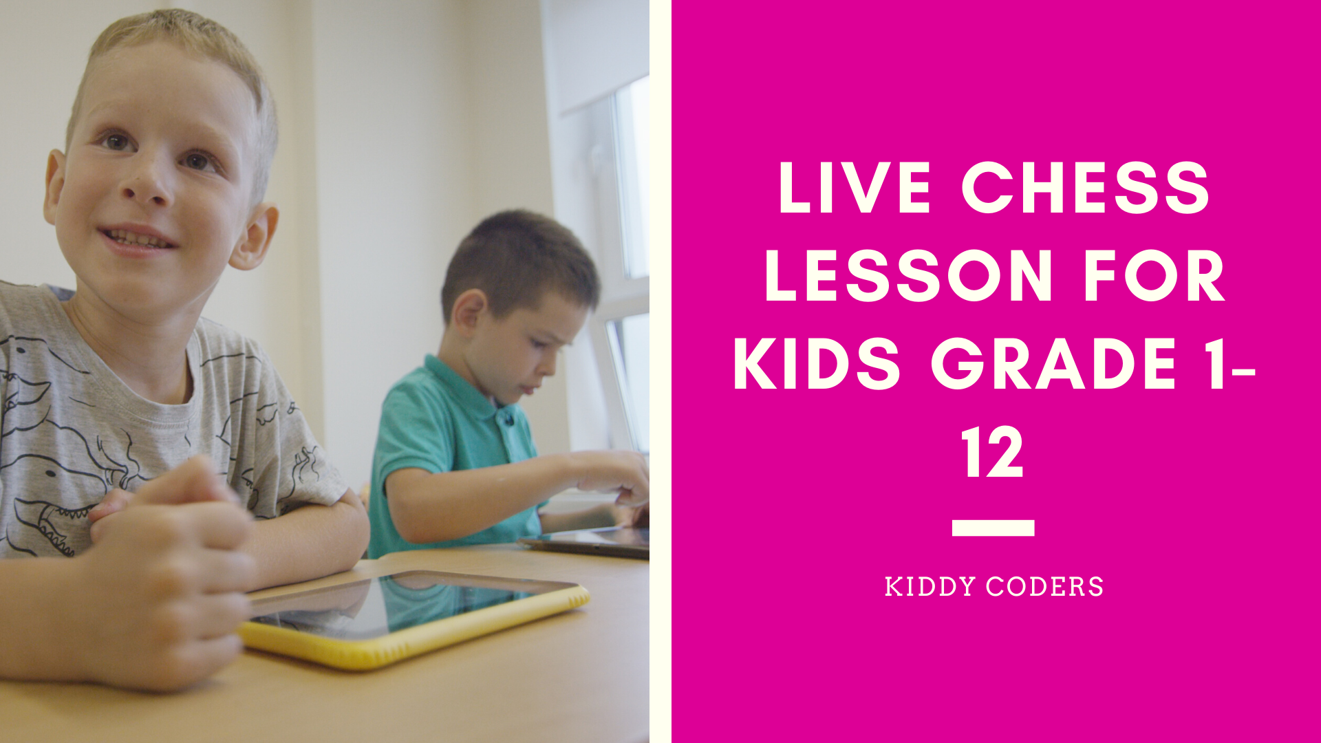 Live Chess Lesson for kids Grade 1-12