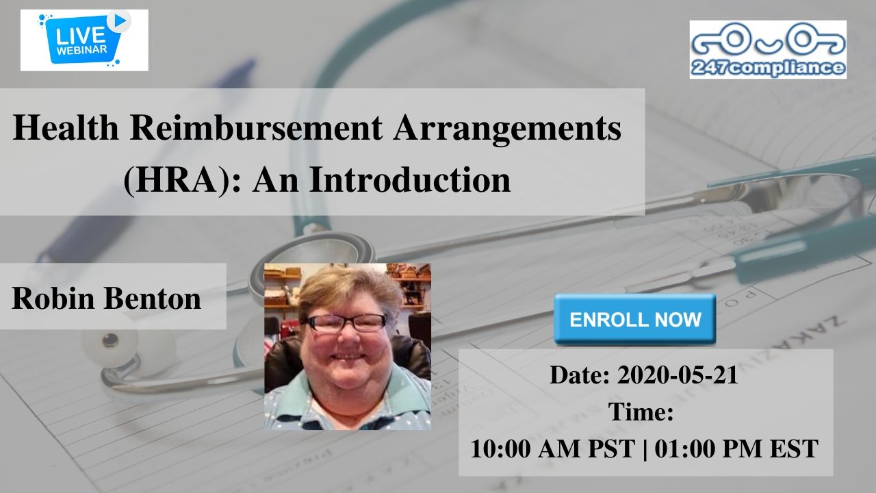 Health Reimbursement Arrangements (HRA): An Introduction