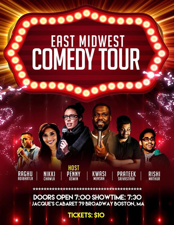 East Meets Midwest Comedy - Boston