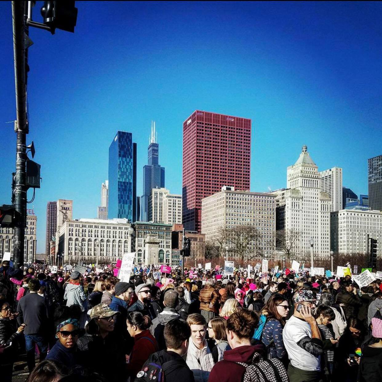 Women's March Chicago: March to the Polls