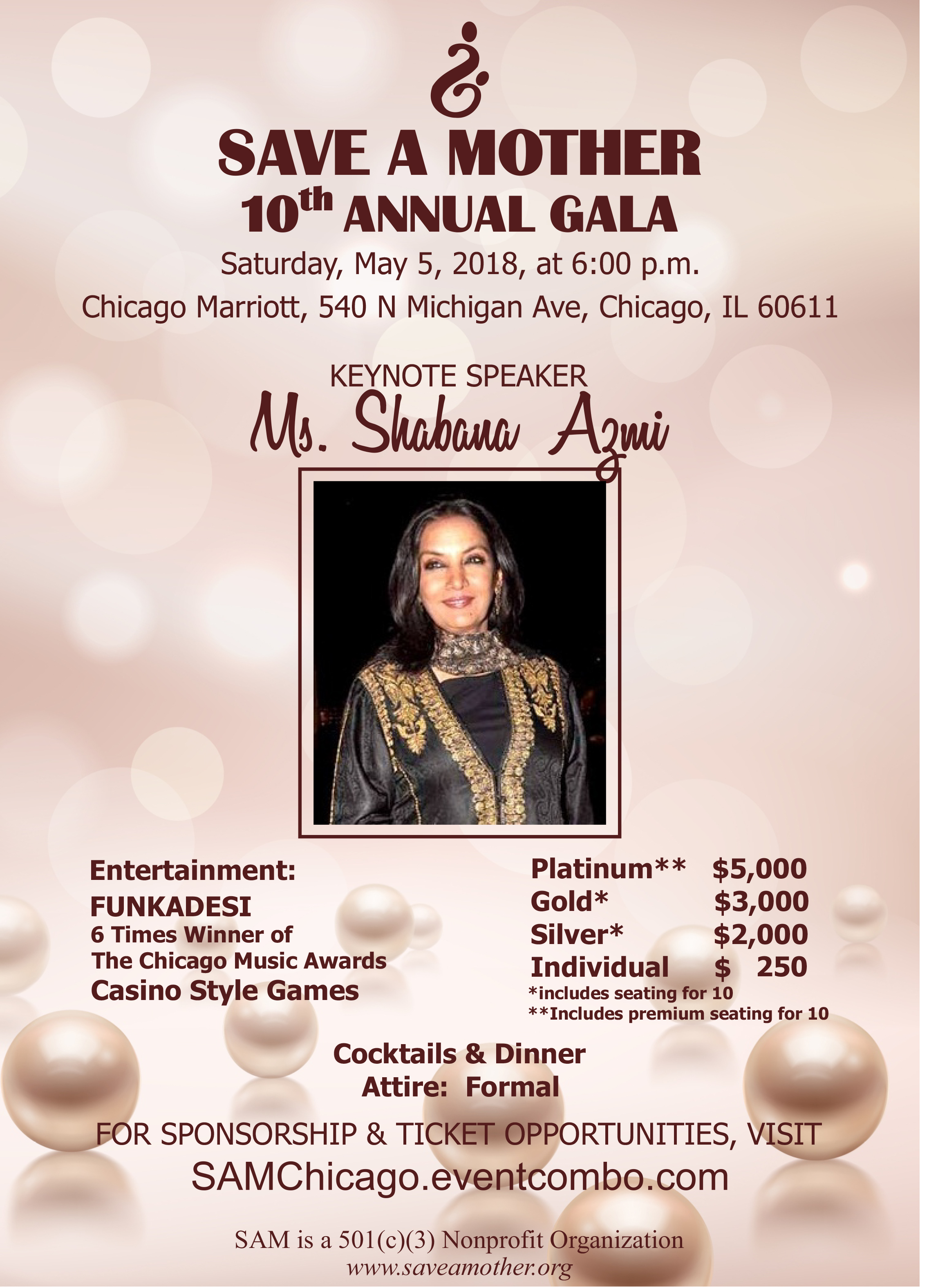 Save A Mother 10th Annual Gala in Chicago