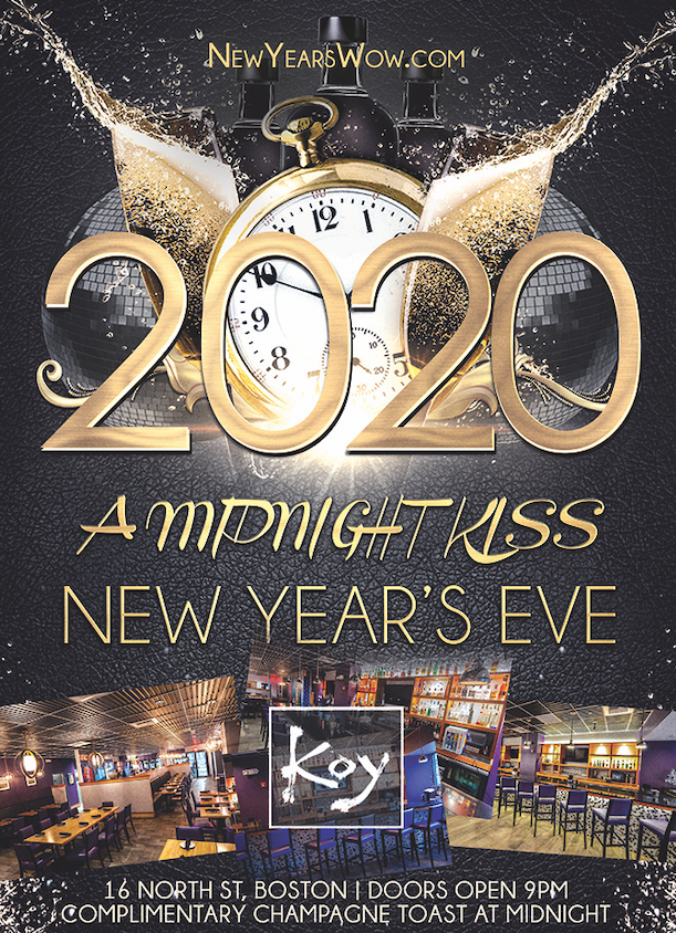 """A Midnight Kiss"" New Year's Eve at KOY"
