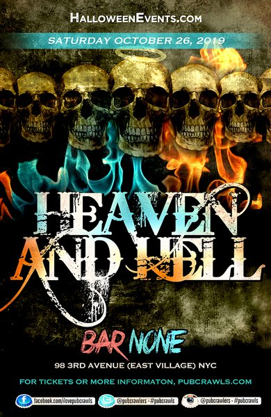 "Bar None NYC ""Heaven & Hell"" Halloween"