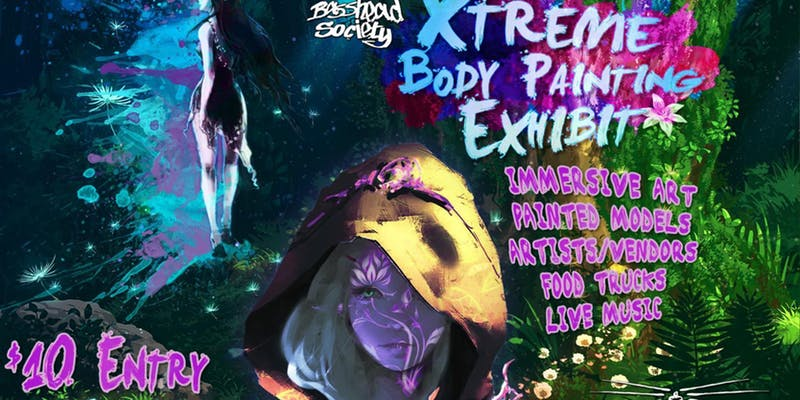 Xtreme Body Painting Music & Art Exhibition