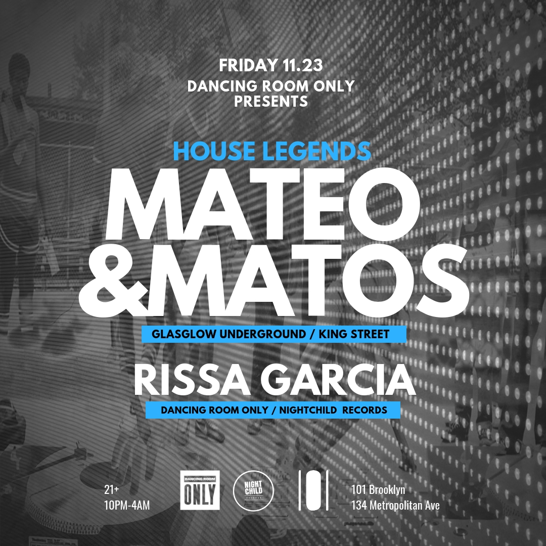 Powered By Traxsource Mateo Matos King Street Rissa Garcia