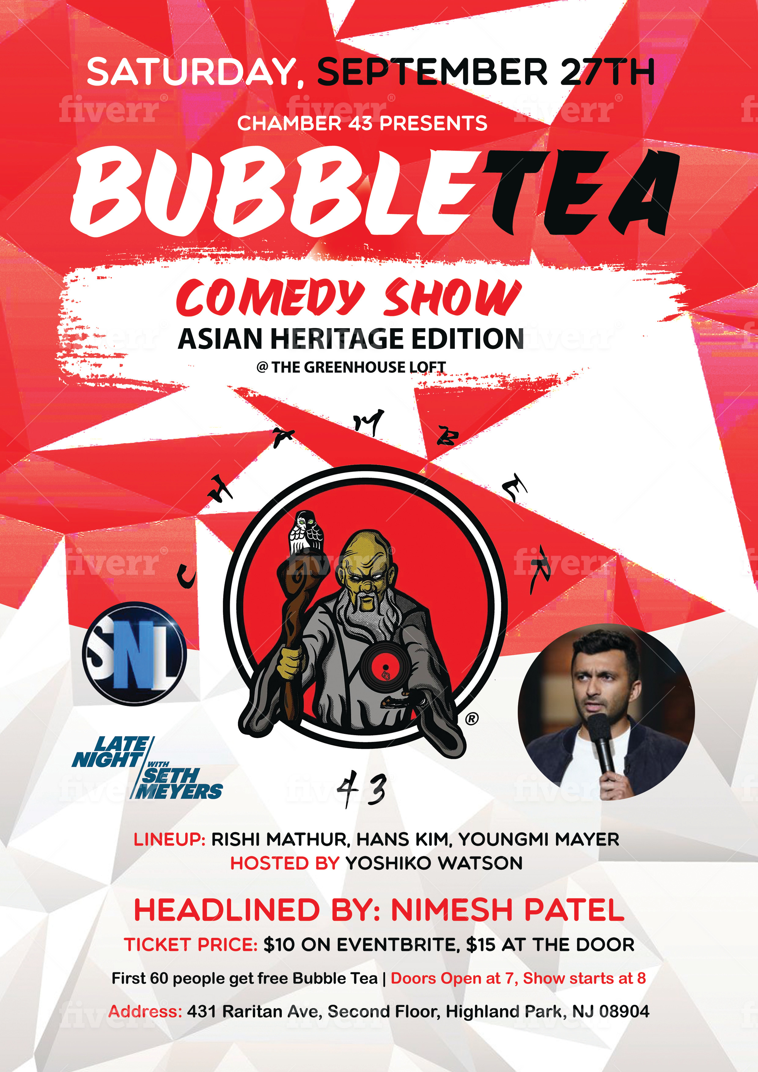 Bubble Tea Comedy Show: Asian Heritage Edition