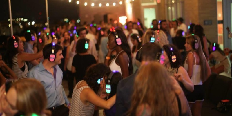 Rooftop Silent Disco in Shaw