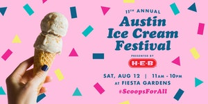 11th Annual Austin Ice Cream Festival at Fiesta Gardens on August 12, 2017