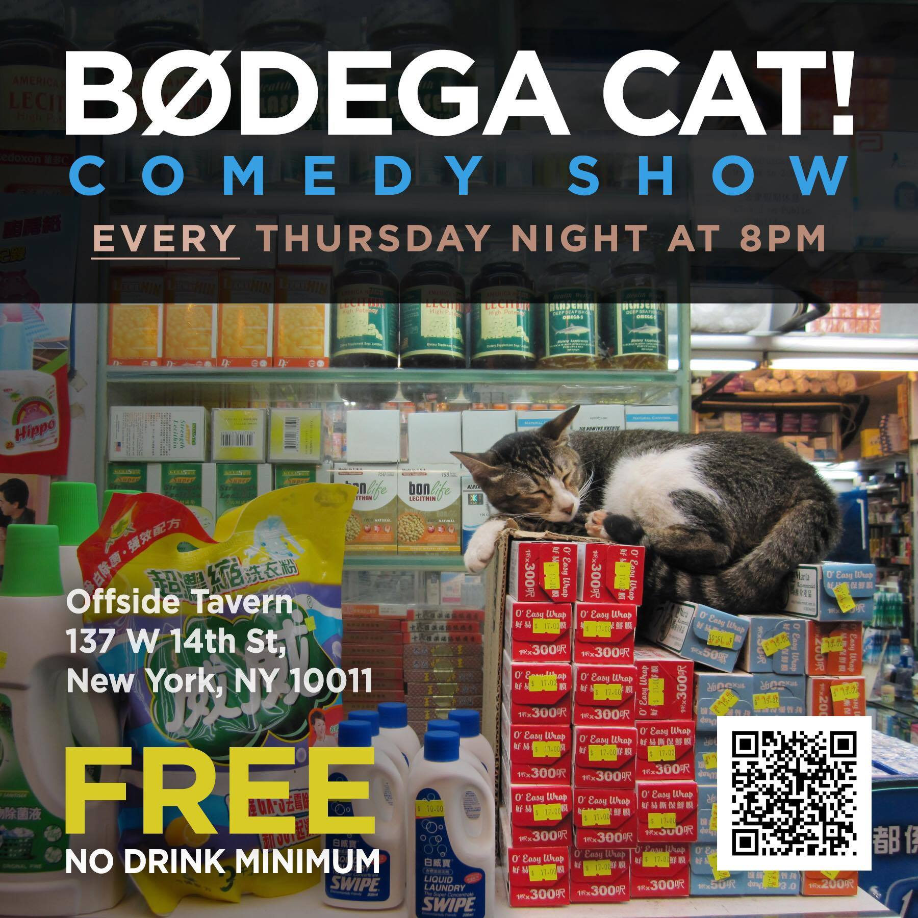Bodega Cat Comedy Show