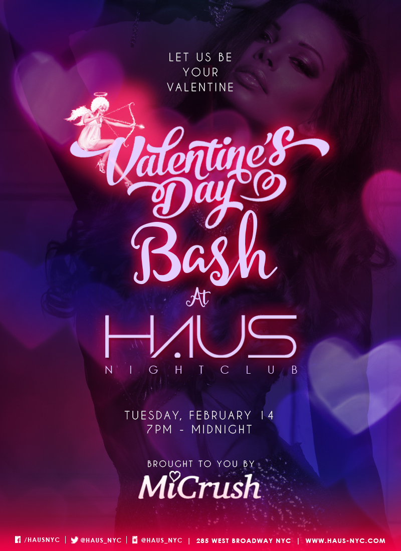 MiCrush Valentine's Day Bash