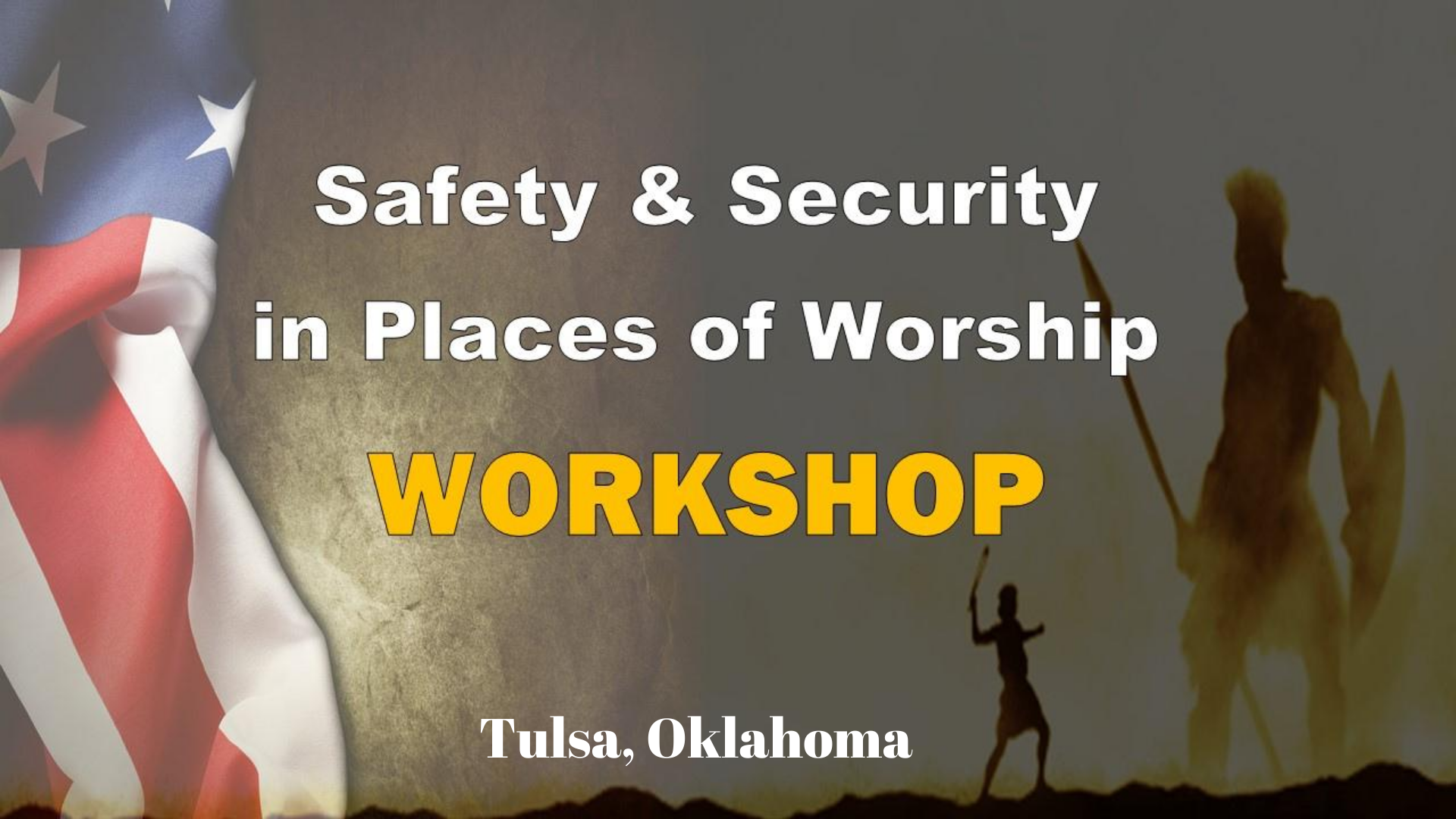 Safety and Security in Places of Worship - Workshop