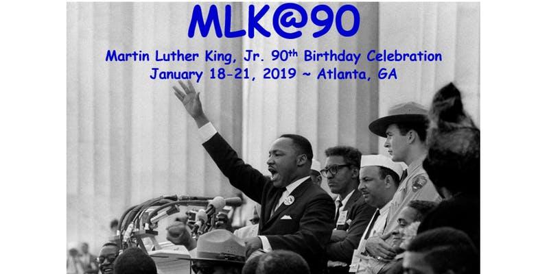 Martin Luther King Jr 90th Birthday Celebration In Atlanta