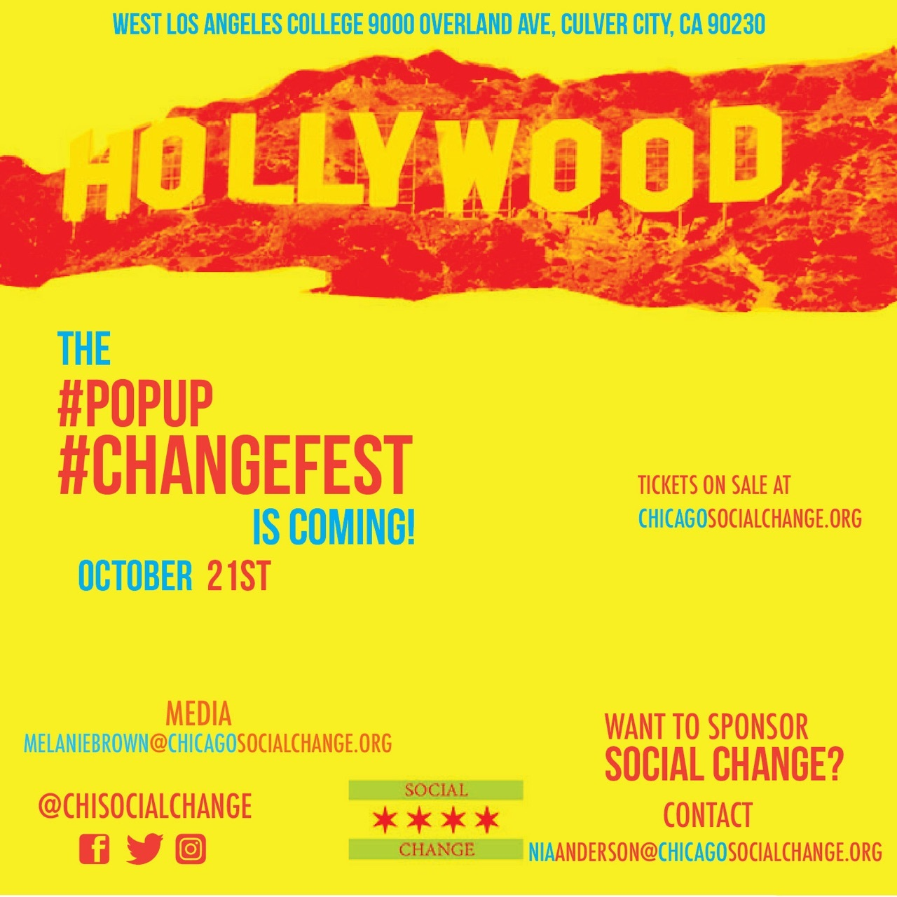 #PopUp #ChangeFest - Los Angeles