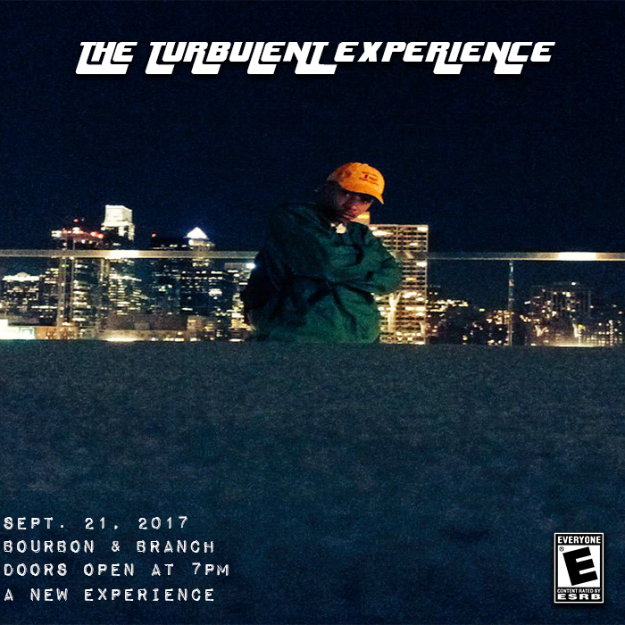 The Turbulent Experience: (Philly) A Special Presentation Sept. 21st, 2017