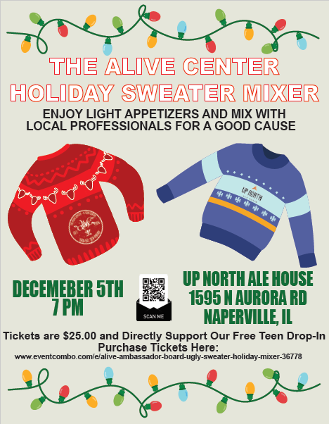 Alive Ambassador Board Holiday Sweater Mixer