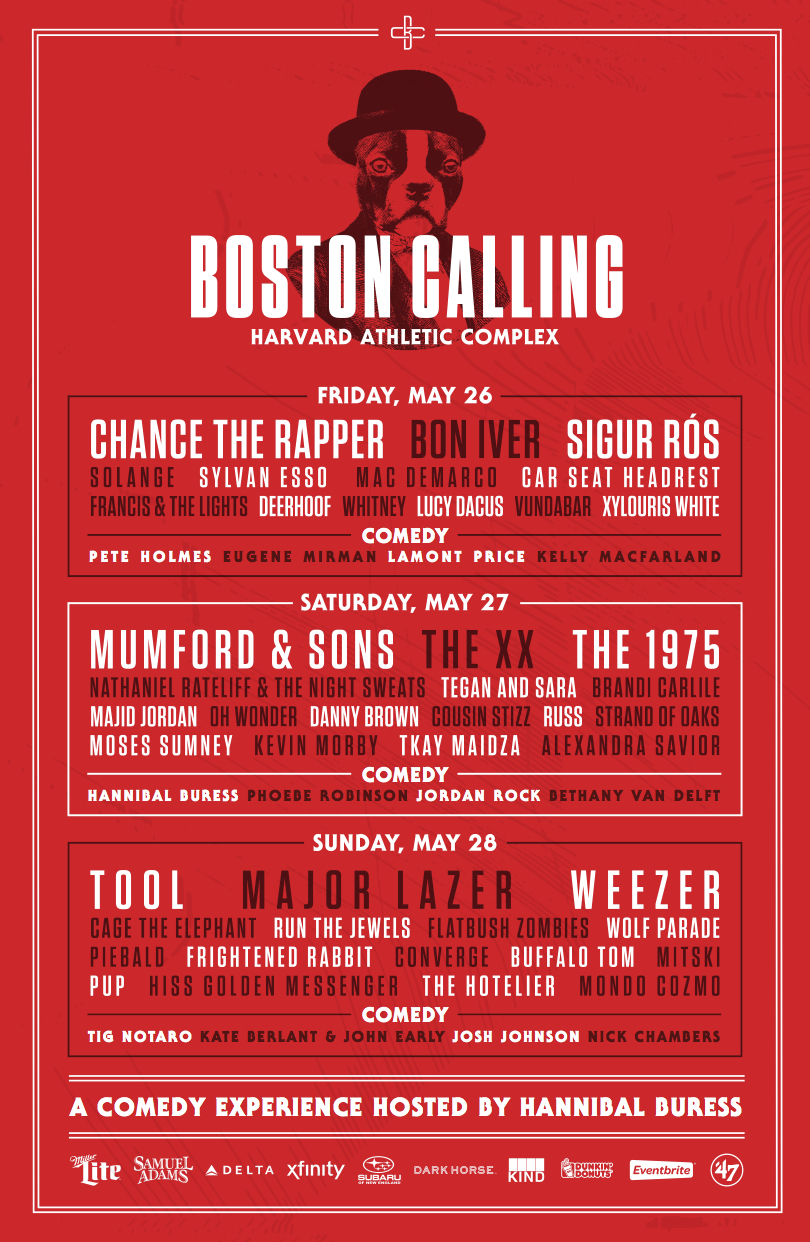 Boston Calling - May 26, 27, 28, 2017