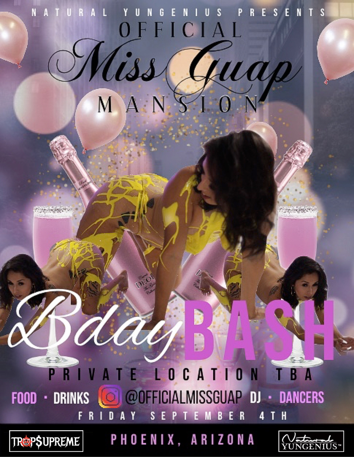 Official MissGuap  Mansion  Party