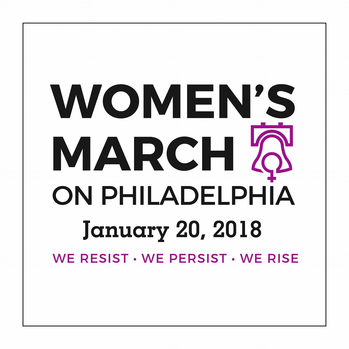 Women's March on Philadelphia 2018