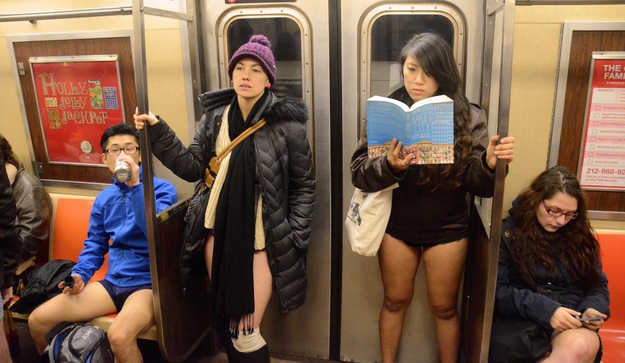 No Pants Subway Ride 2018 | The No Pants Subway Ride is an
