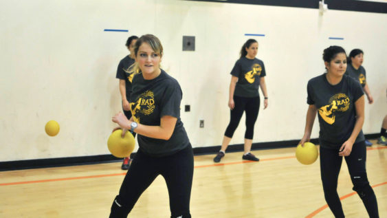 RAD Recces: Women-Only Open Gym Dodgeball