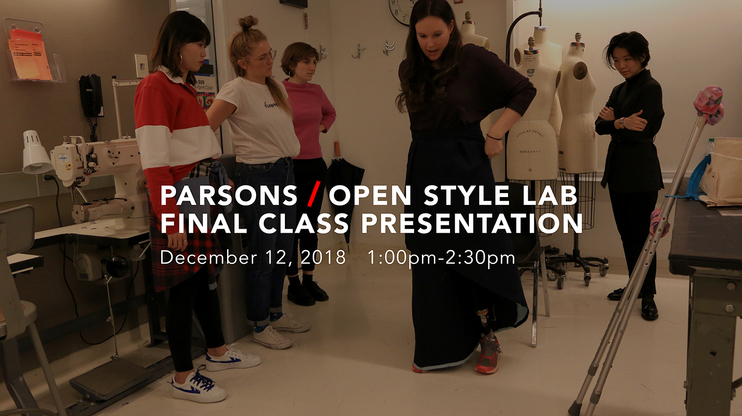 Final Showcase: Open Style Lab Fall Course at The New School, Parsons School of Design