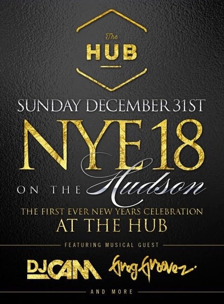 HUB Hoboken NYE on the Hudson 2018
