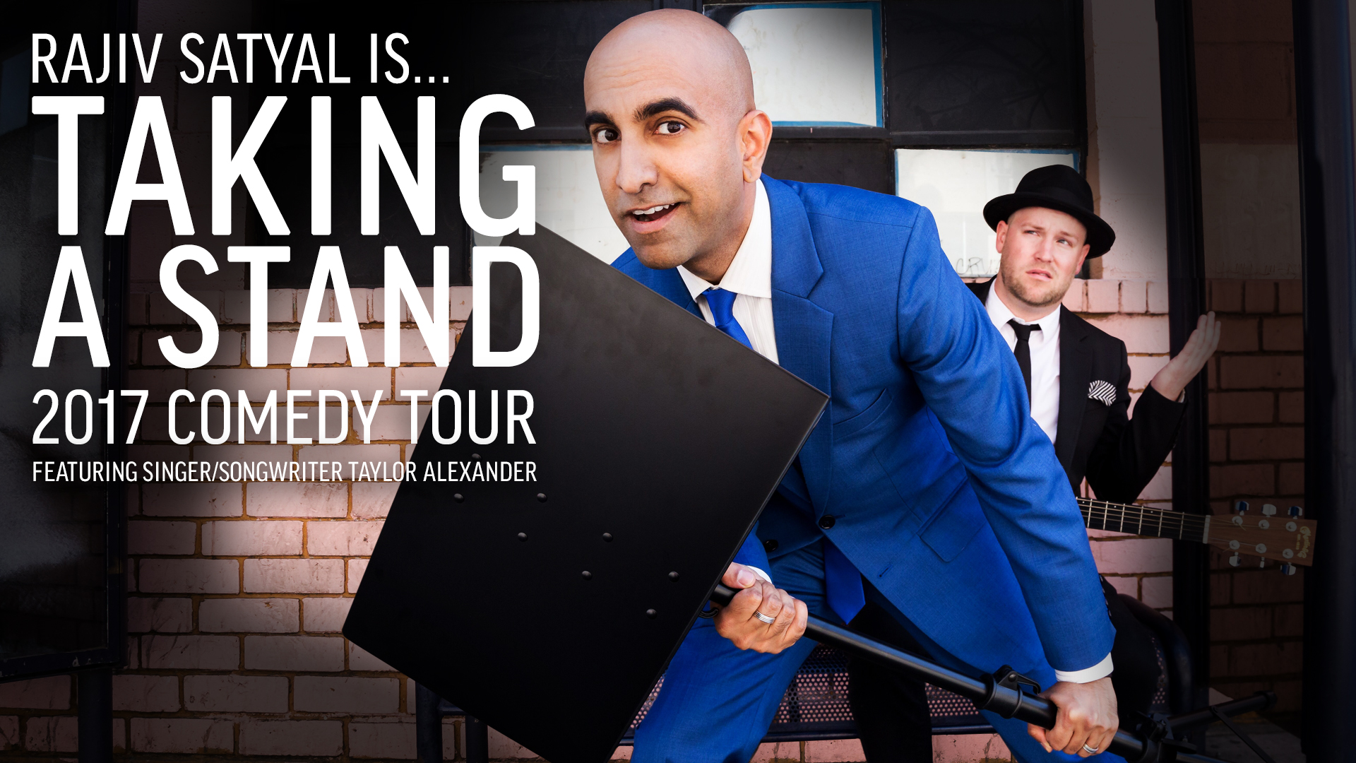 Rajiv Satyal's Taking a Stand Comedy Tour - Nashville